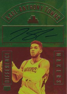 2016-17 PANINI GRAND RESERVE Auto Karl-Anthony Towns 【35枚限定】Rookie Star RS54様