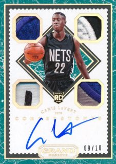 2016-17 PANINI GRAND RESERVE Patch Auto Chris LeVert 【10枚限定】Rookie Star RS54様