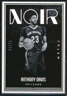 2016-17 PANINI NOIR Metal Anthony Davis 【25枚限定】Rookie Star RS54様