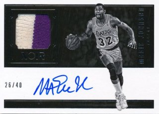 2016-17 PANINI NOIR Patch Auto Magic Johnson 【40枚限定】Rookie Star RS54様