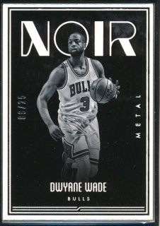 2016-17 PANINI NOIR Metal Dwyane Wade 【25枚限定】Rookie Star RS60様