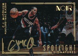2016-17 PANINI NOIR Spotlight Auto C.J. McCollum  【125枚限定】Rookie Star RS61様