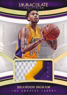 2016-17 PANINI IMMCULATE COLLECTION Patch Brandon Ingram 【15枚限定】Rookie Star RS66様