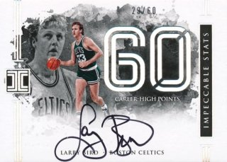 2016-17 PANINI IMPECCABLE Auto Larry Bird 【60枚限定】Rookie Star RS9様