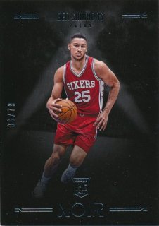 2016-17 PANINI NOIR RC Ben Simmons 【79枚限定】Rookie Star RS60様
