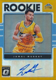 2016-17 PANINI DONRUSS OPTIC RC Gold Prizm Auto Jamal Murray 【10枚限定】Rookie Star RS98様