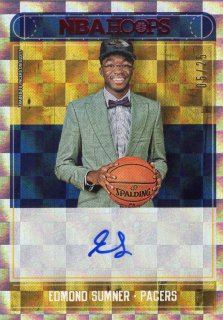 17-18 Panini NBA Hoops Rookie Autograph (Red) Edmond Sumner 【25枚限定】 MINT梅田店 John Doe様