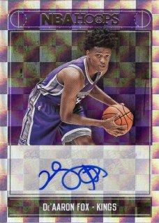 17-18 Panini NBA Hoops Rookie Autograph De'Aaron Fox MINT梅田店 John Doe様