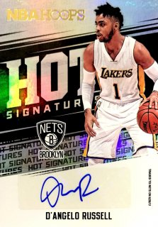2017-18 PANINI HOOPS Hot Signatures D'Angelo Russell / MINT新宿店 ttbasketman様