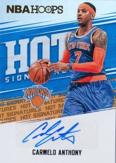2017-18 Panini Hoops Hot Signatures Carmelo Anthony ミント札幌店 キャボション様