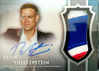 2017 Topps Dynasty Autograph Patches Theo Epstein【10枚限定】ミント札幌店 Billy様