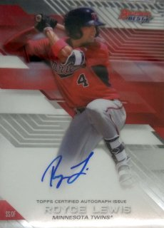 2017 BOWMAN'S BEST Best of '17 Autographs Royce Lewis/ MINT千葉店 北田さん様