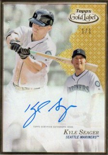 2017 TOPPS GOLD LABEL Framed Autographs Gold Kyle Seager【1枚限定】/ MINT千葉店 北田さん様