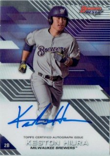 2017 TOPPS BOWMAN'S BEST Autograph Card Keston Hiura / MINT立川店 Sheed様
