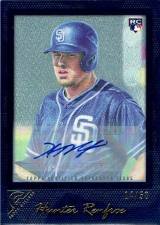 2017 TOPPS GALLERY Autograph Card Blue Hunter Renfroe【50枚限定】 / MINT立川店 ひじき様