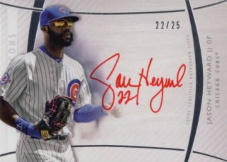 2017 Topps Diamond Icons Red Ink Signature Jason Heyward【25枚限定】MINT梅田店 Mr.ミニオン様