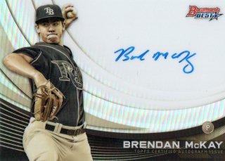 2017 Bowman's Best Monochrome Autograph Brendan McKay【125枚限定】MINT梅田店 HN様