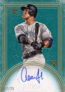 2017 Topps Definitive Collection Rookie Autograph (Green) Aaron Judge【25枚限定】MINT梅田店 マリス様