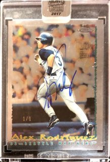 2017 TOPPS ARCHIVES SIGNATURE POST SEASON EDI Autograph Card Arex Rodriguez【1of1】MINT新宿店 ミスター1of1様