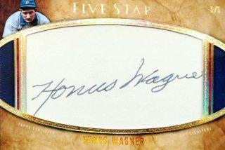 2017 Topps FiveStar Cut Signatures Honus Wagner【1of1】ミント札幌店 Kalafina様