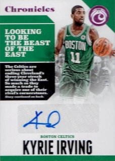 2017-18 PANINI CHRONICLES Signature Purple Kyrie Irving 【49枚限定】/ MINT立川店 ひじき様