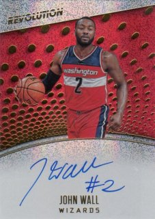 2017-18 PANINI REVOLUTION Autographs John Wall / MINT千葉店 庄司尚人様