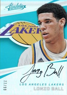 17-18 Panini Absolute Rookie Autograph Lonzo Ball【99枚限定】MINT梅田店 ハブケン様