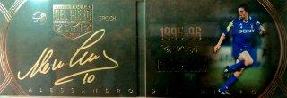 EP DEL PIERO ZONE 1995-96 Campione Booklet Autografo 【11枚限定】 / MINT池袋店 エドピエロ様