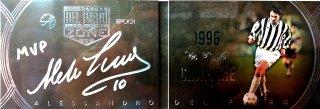 EP DEL PIERO ZONE 1996 Campione Booklet Autografo Silver 【8枚限定】 / MINT池袋店 エドピエロ様