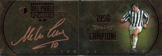 EP DEL PIERO ZONE 1996 Campione Booklet Autografo Bronze 【12枚限定】 / MINT池袋店 エドピエロ様
