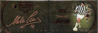 EP DEL PIERO ZONE 1996 Campione Booklet Autografo Bronze 【11枚限定】 / MINT池袋店 エドピエロ様