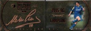 EP DEL PIERO ZONE 1995-96 Campione Booklet Autografo 【11/11 Last NO.】 / MINT池袋店 エドピエロ様