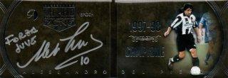 EP DEL PIERO ZONE 1997-98 Campione Booklet Autografo Silver 【8枚限定】 / MINT池袋店 エドピエロ様
