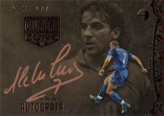 EP DEL PIERO ZONE Firma Autografa Italy 【7枚限定】 / MINT池袋店 エドピエロ様