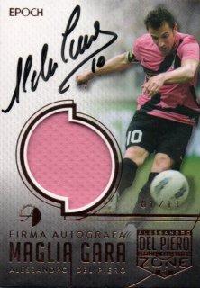 EP DEL PIERO ZONE Firma Autografa Maglia Gara Juventus Away 【01/11 1st NO.】 / MINT池袋店 エドピエロ様