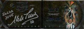 EP DEL PIERO ZONE 2011-12 Campione Booklet Autografo Silver 【1/8 1st NO.】 / MINT池袋店 エドピエロ様