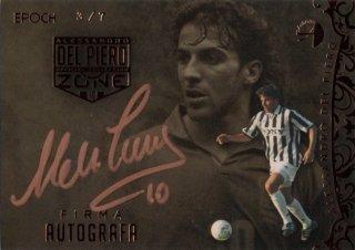 EP DEL PIERO ZONE Firma Autografa Juventus 【7枚限定】 / MINT池袋店 エドピエロ様