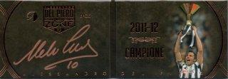 EP DEL PIERO ZONE 2011-12 Campione Booklet Autografo Bronze 【12枚限定】 / MINT池袋店 エドピエロ様