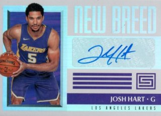 2017-2018 PANINI STATUS  New Breed Autographs Josh Hart / MINT吉祥寺店 SUE様