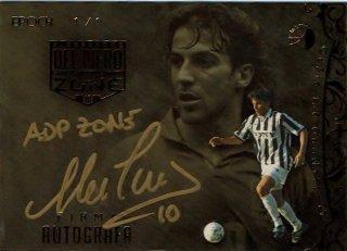 EP DEL PIERO ZONE Firma Autografa Juventus【1枚限定】 / MINT新宿店 ADP様