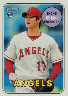 2018 TOPPS HERITAGE Action Variations Shohei Ohtani/ MINT千葉店 Tony様