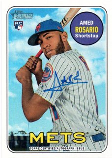 2018 TOPPS HERITAGE Real One Autographs AMED ROSARIO / MINT三宮店 KKK様
