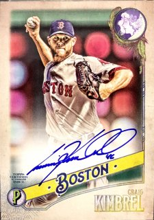 2018 TOPPS GYPSY QUEEN Autographs GQ Logo Swap Craig Kimbrel【99枚限定】 /MINT新宿店 きんぶれる様