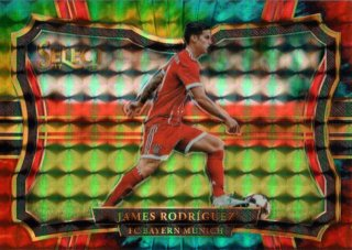 2017-18 Select Camo Parallel Field Level Base James Rodriguez 【30枚限定】 / MINT池袋店 ヒデ様