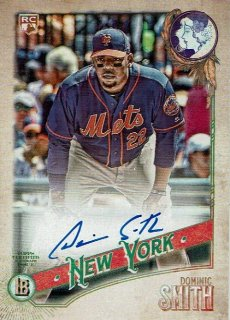 2018 TOPPS GYPSY QUEEN Autographs Dominic Smith【80枚限定】 /MINT新宿店 すなこう様