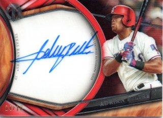 2018 TOPPS TRIBUTE Autographs Red Adrian Beltre 【10枚限定】 / MINT三宮店 ゆう様