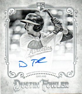 2018 TOPPS GYPSY QUEEN Mini Rookie Autographs Black & White  Dustin Fowler 【50枚限定】 /MINT三宮店 ゆう様