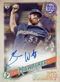 2018 TOPPS GYPSY QUEEN Autographs Brandon Woodruff / MINT立川店 ひじき様