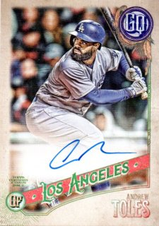 2018 TOPPS GYPSY QUEEN Autographs Andrew Toles /MINT三宮店 さかっち様