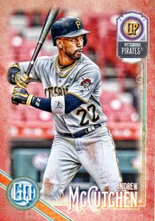 2018 TOPPS GYPSY QUEEN Base Andrew McCutchen 【10枚限定】 /MINT三宮店 さかっち様